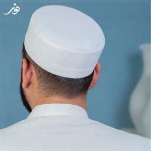 Full White Talib Kufi 2.0